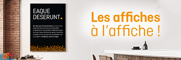 100 affiches A2